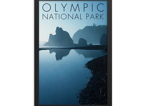 12x18 Framed Olympic Poster 3