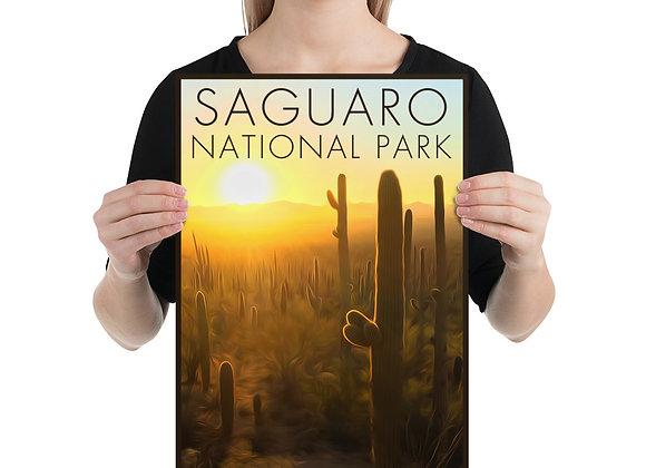 12x18 Saguaro National Park Poster 2