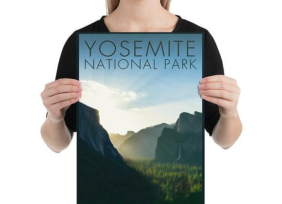 12x18 Yosemite Poster 4