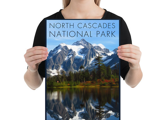 12x18 North Cascades Poster 1