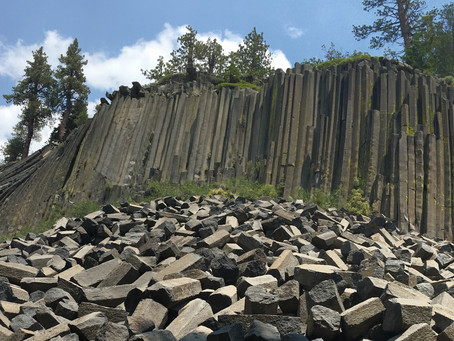 Owens Valley Part 6: Devil's Postpile, Bodie, Mono Lake, and Yosemite National Park