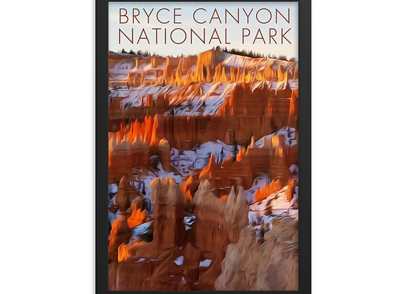 12x18 Framed Bryce Canyon Poster 3