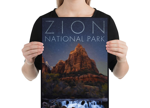 12x18 Zion Poster 3