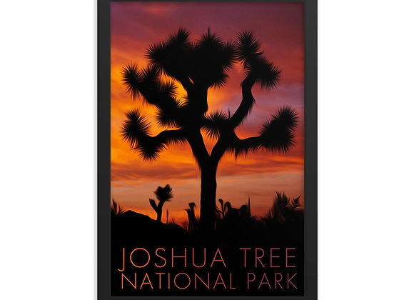12x18 Framed Joshua Tree Poster