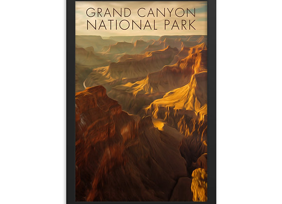 12x18 Grand Canyon Framed Poster 1