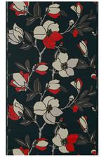 papier peint Eleonore Noir et rouge vers