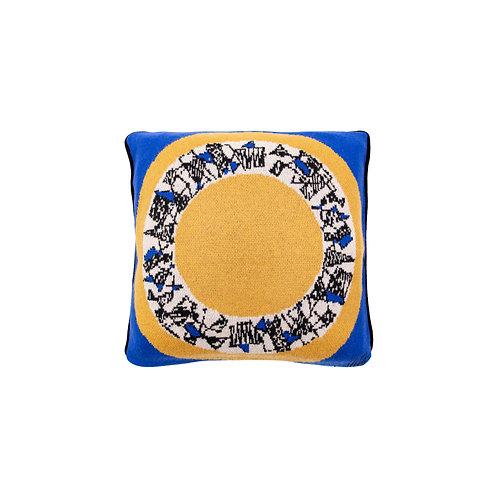 SAVED  NY x MAISON LELEU - Surréalisme Pillow Blue