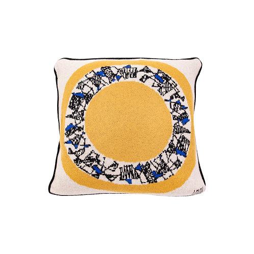 SAVED  NY x MAISON LELEU - Surréalisme Pillow Yellow