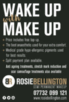Rosie Bellington Semi Permanent Wake up With Make Up
