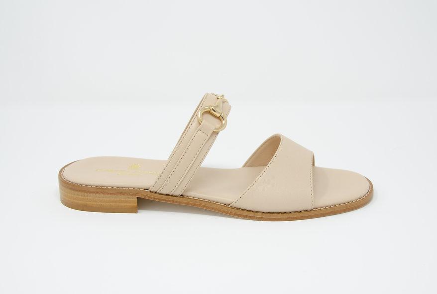 The Sara- Beige Leather