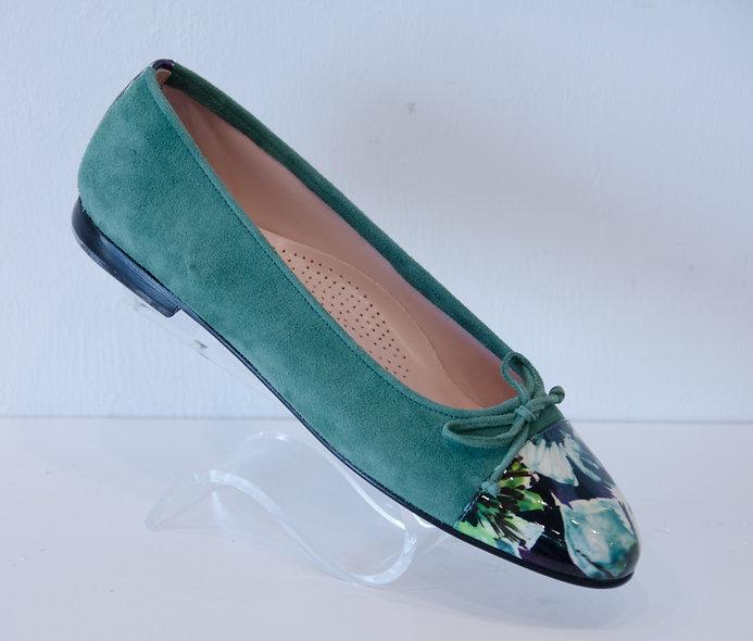 Ballerina- Emerald Floral
