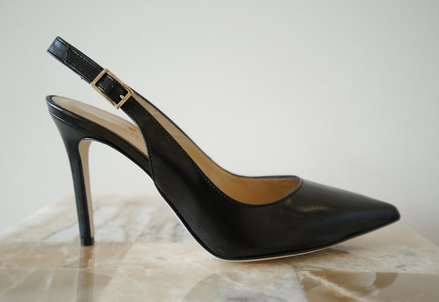 The Arielle- Black Leather