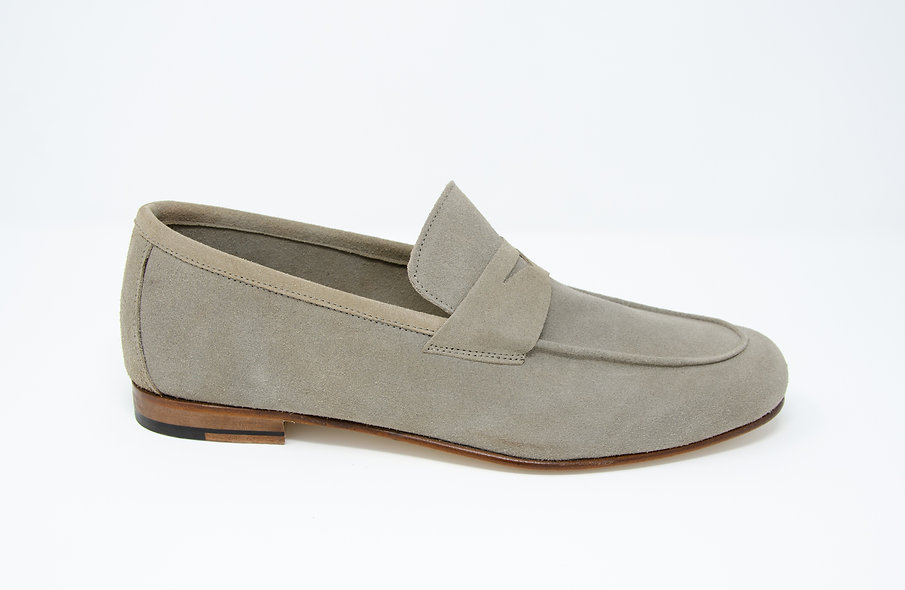 The Torino- Gray Suede