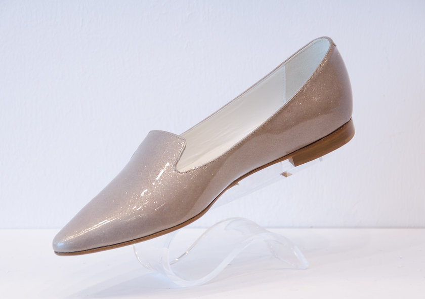 The Penny- Metallic Beige