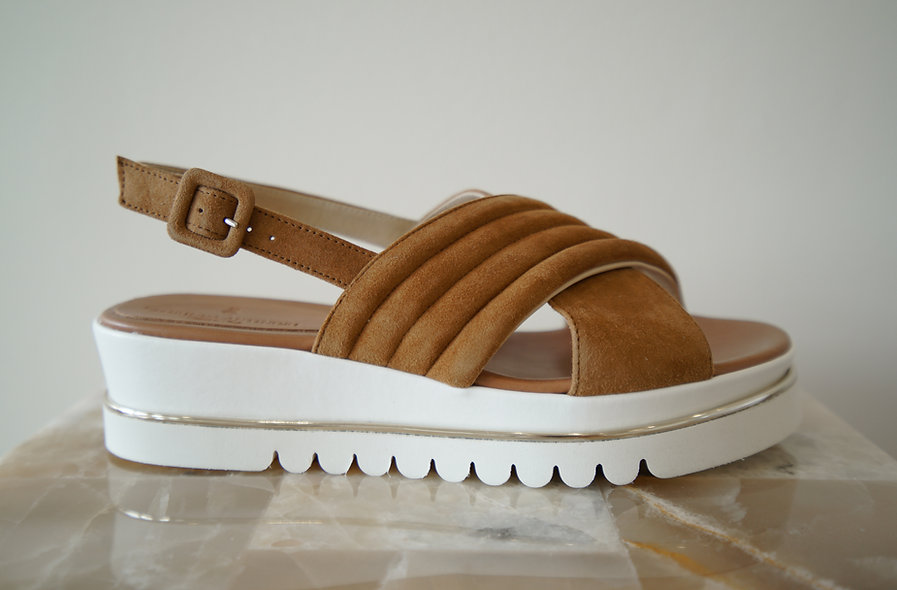 The Libera- Brown Suede