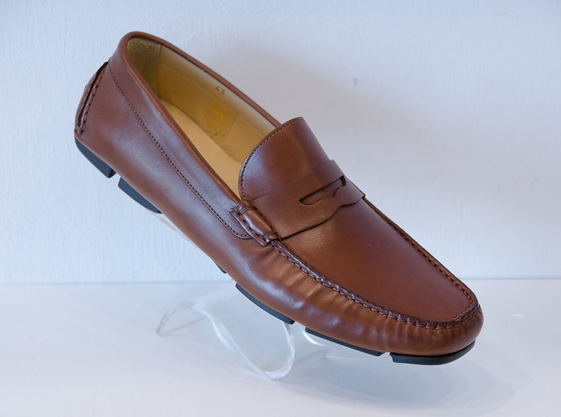 The DRIVER- Penny Loafer Dark Brown