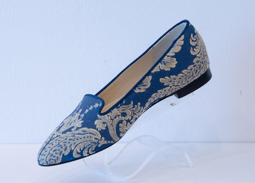 The Paige- Blue Textile