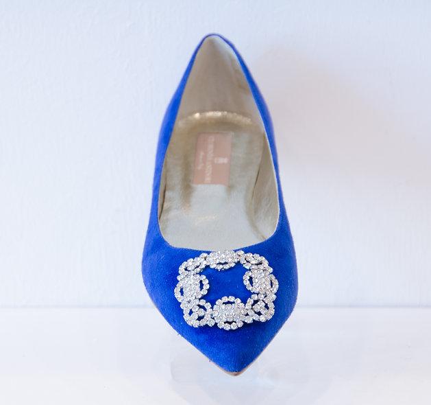 The Satinata- Royal Blue