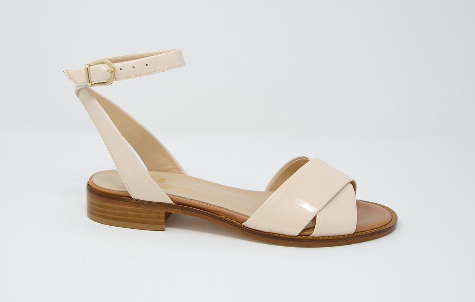 The Capriana- Patent Nude