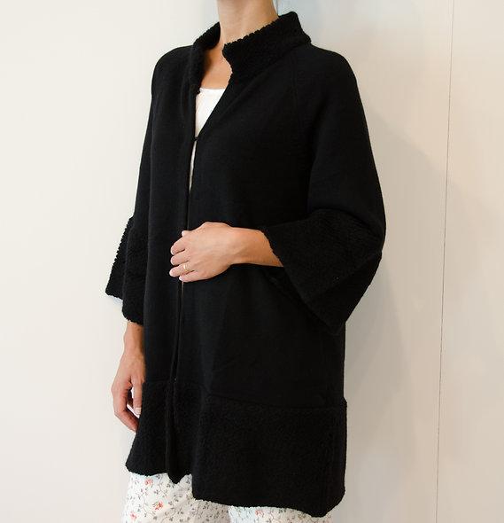 The Longcoat- Black