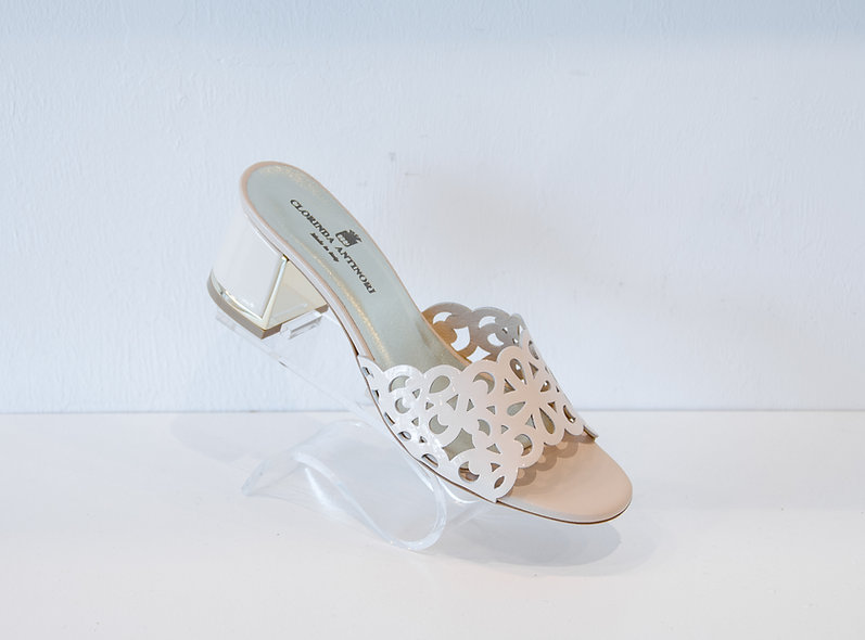 The Fay- Beige Patent Leather
