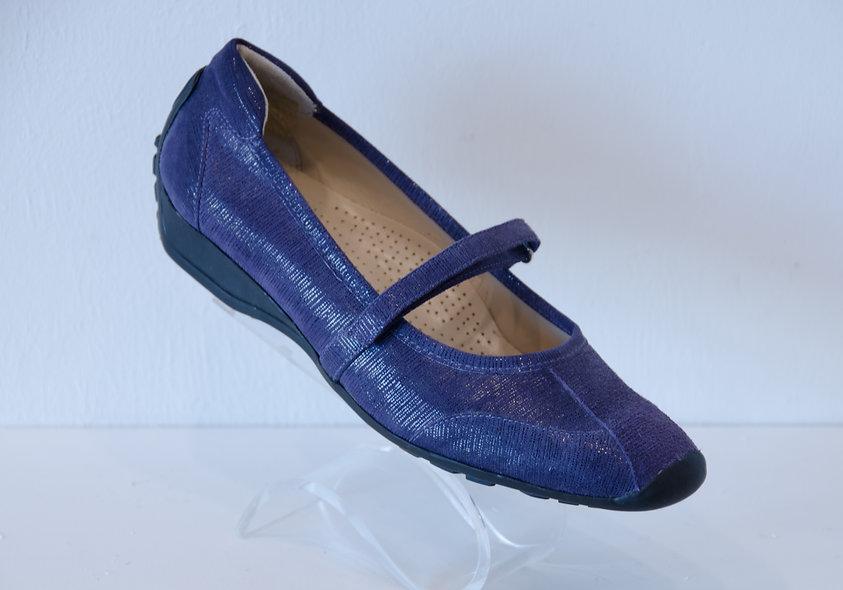 Sneaker Ballerina- Violet Suede