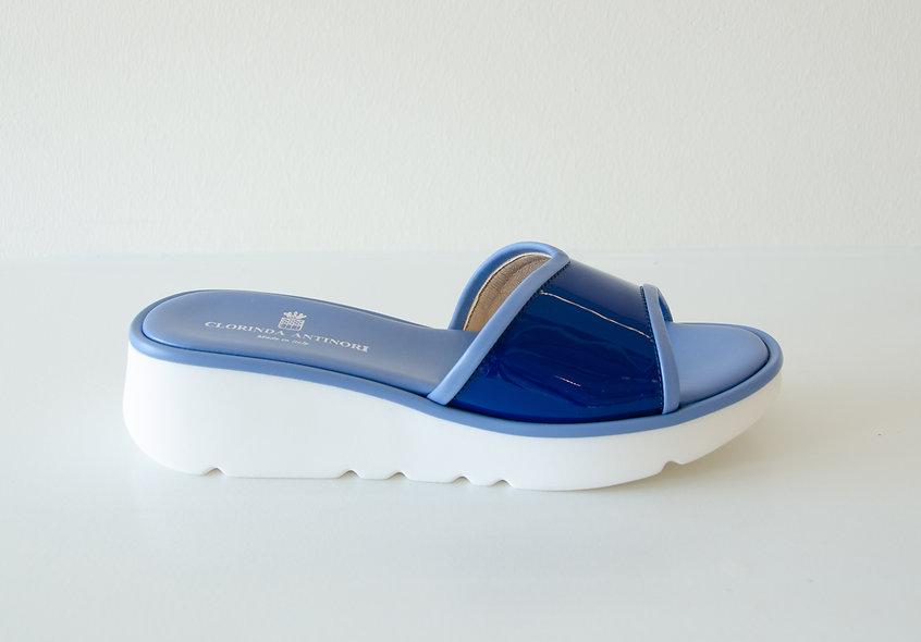 The Sporty- Blue Patent