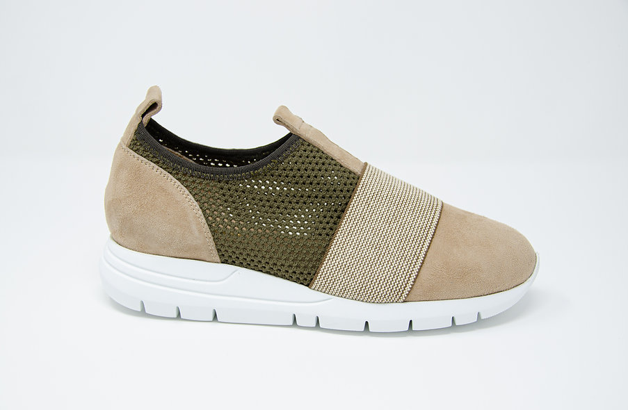 The Atletica- Beige/Military Green