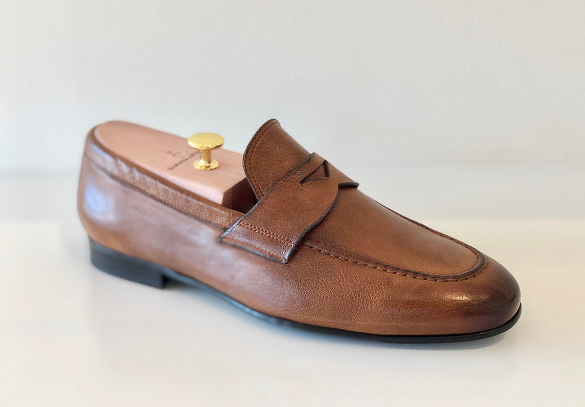 The Cool Hand- Tabacco Brown Leather