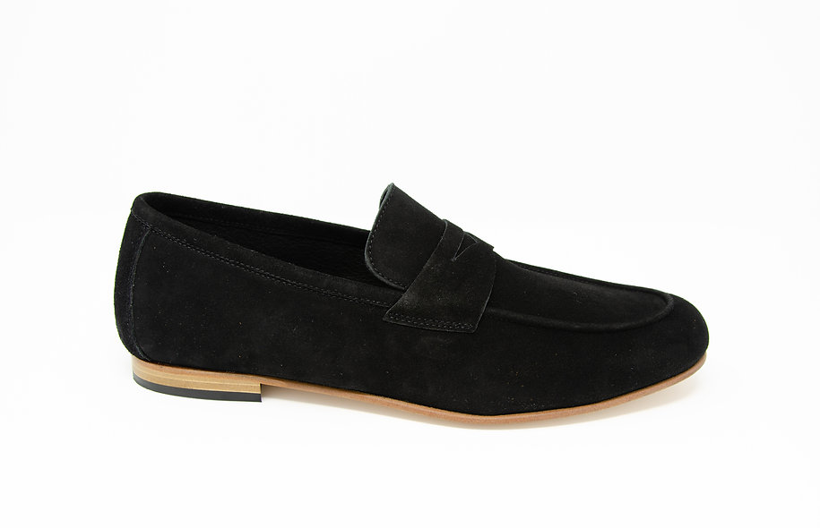 The Torino- Black Suede