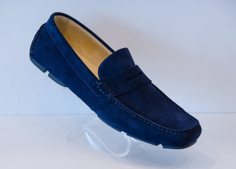 The DRIVER- Penny Loafer Navy
