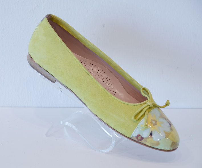 Ballerina-Yellow Floral
