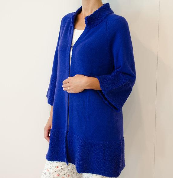 The Longcoat- Royal Blue