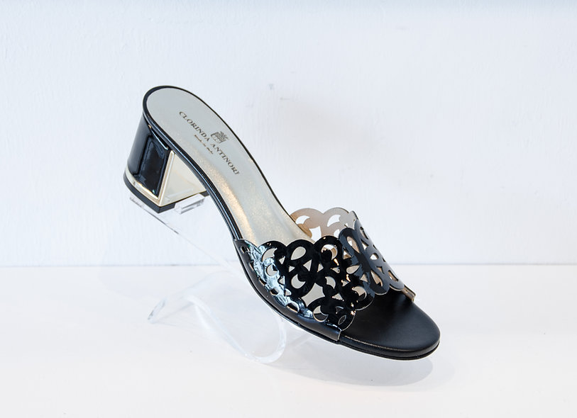 The Fay- Black Patent Leather