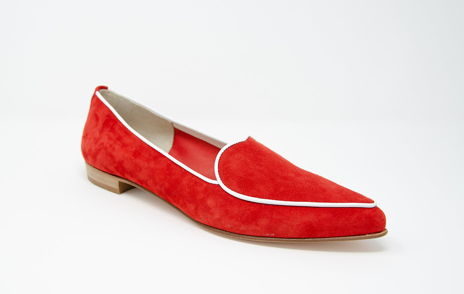 The Amorosa- Red Suede