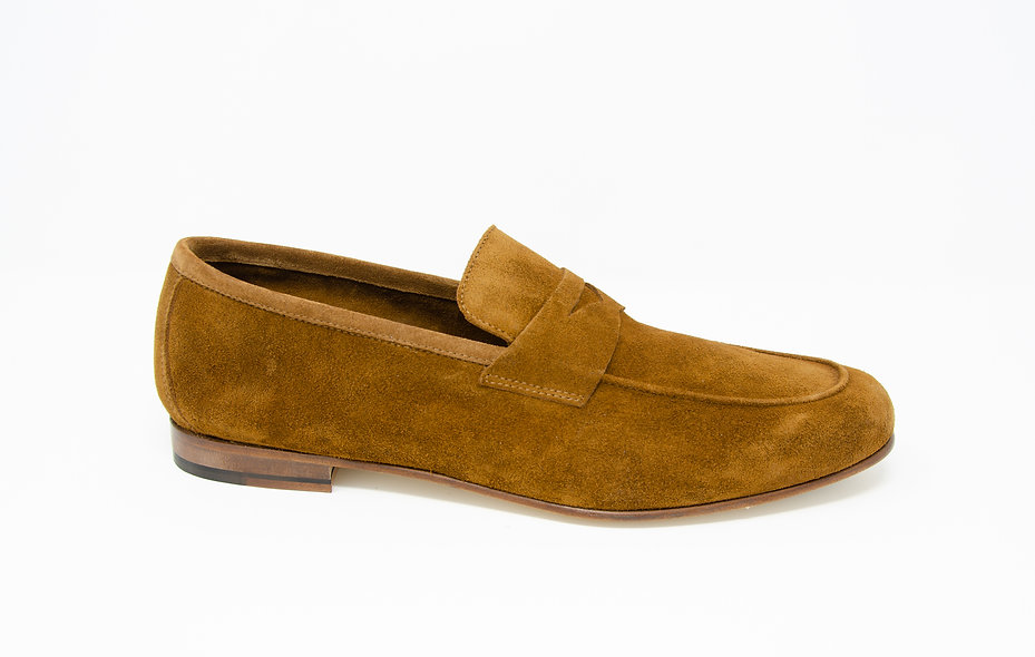 The Torino- Curry Brown Suede