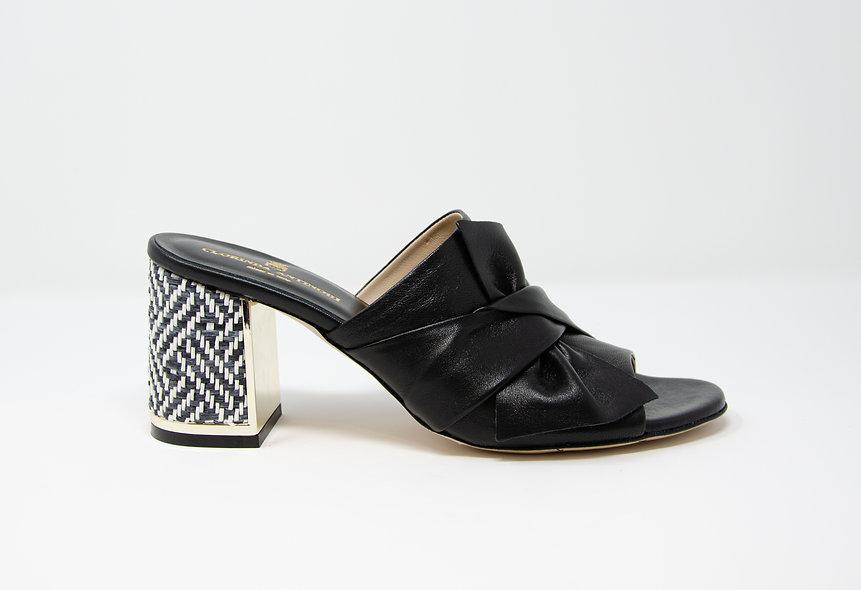 The Livia- Black Leather