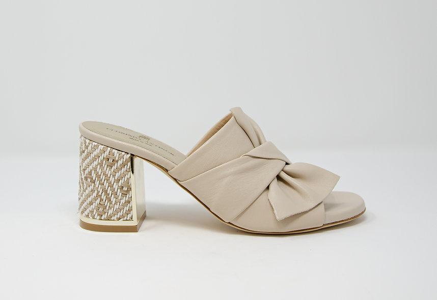 The Livia- Beige Leather
