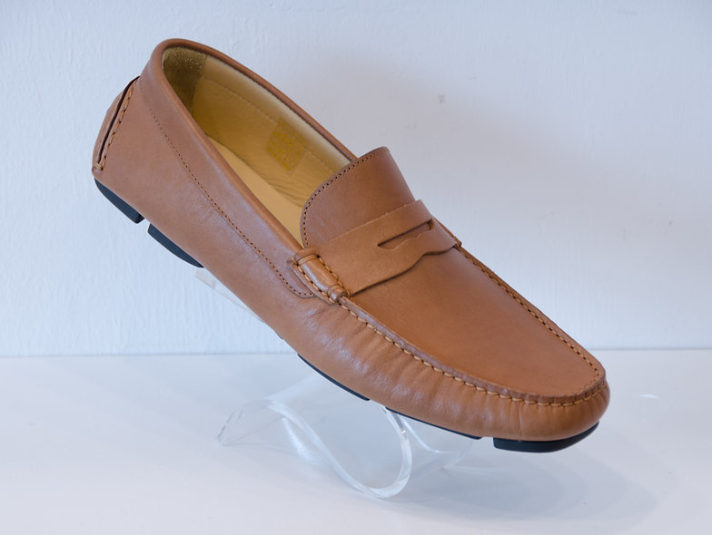 The DRIVER- Penny Loafer Light Brown