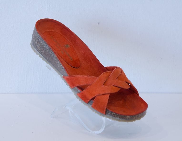 Sandal- Orange Cork