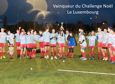 U14 - Tournoi International de Noel 2019 of ILLKIRCH - Victoire du Luxembourg !