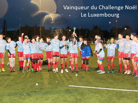U14 - Tournoi International de Noel 2019 of ILLKIRCH - Victoire du Luxembourg !