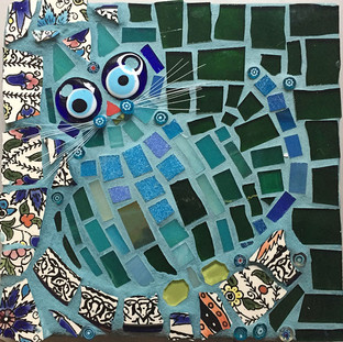 Blue Boy (mosaic)