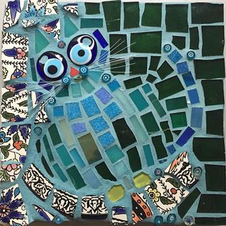 Blue Boy (mosaic)