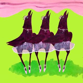 Ballerinas Pirouetting