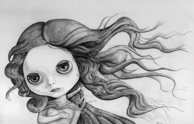 #1 Blythe Venus (detail)