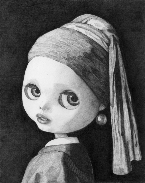 #5 Blythe with a Pearl Earring