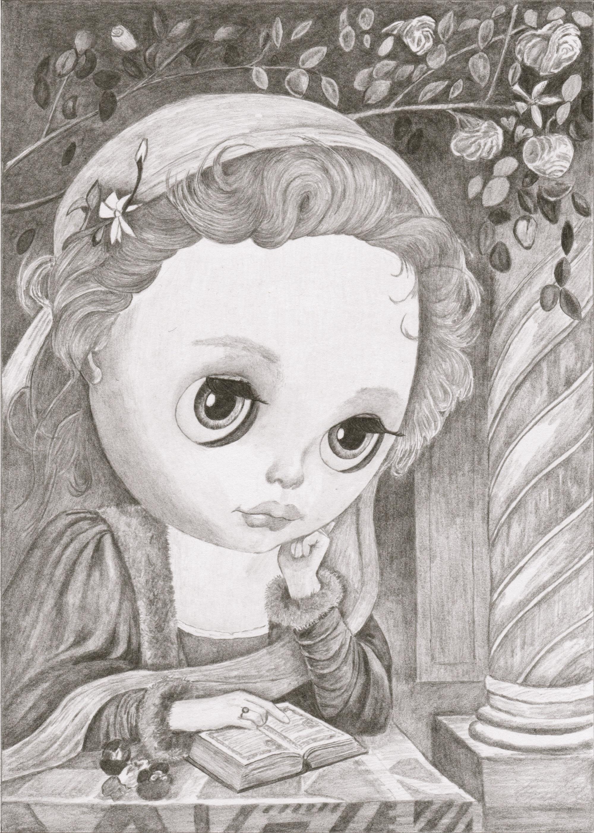 #34 Blythe as Beatrice