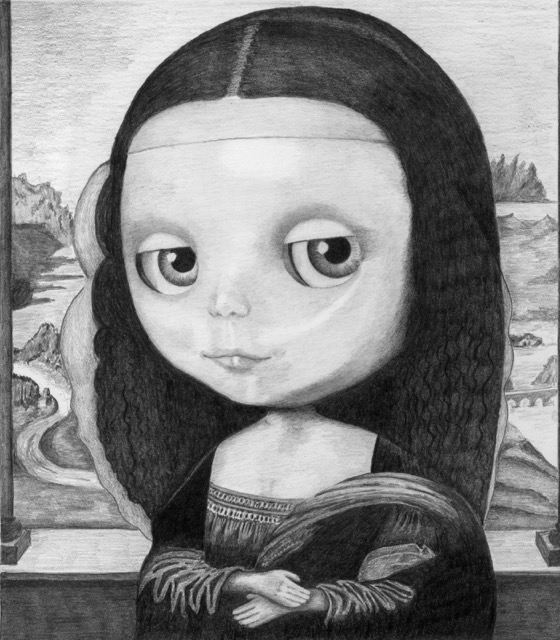 #2 Blythe Mona Lisa