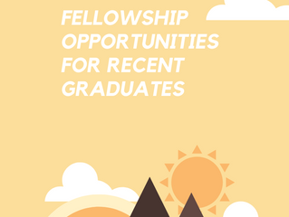 7 Fellowship Opportunities for College Graduates